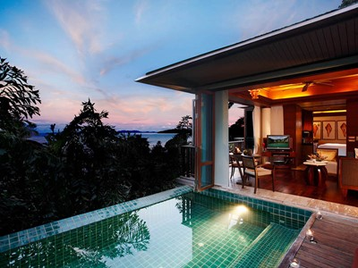 La 1 Bedroom Ocean Facing Villa with Pool du Centara Grand Beach Resort & Villas Krabi