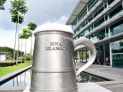 Centre des visiteurs des Royal Selangor