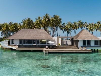 Two Bedroom Garden Water Villa