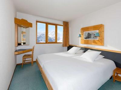 Chambre Club Sud du Club Med Alpe d'Huez La Sarenne