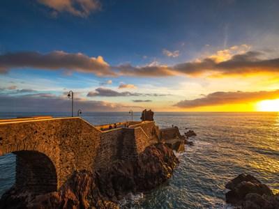 Coucher de soleil à Ponta do Sol