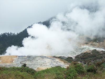 Cratère de Sikidang