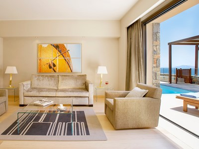 1 Bedroom Suite Sea view private pool