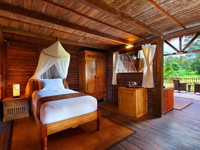Family Suite de l'hôtel De Klumpu, situé à Bali