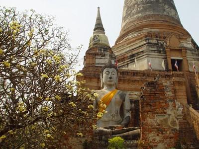 Visite d'Ayutthaya et croisière vers Bangkok