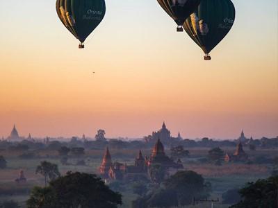 Découverte de Bagan (demi-journée)