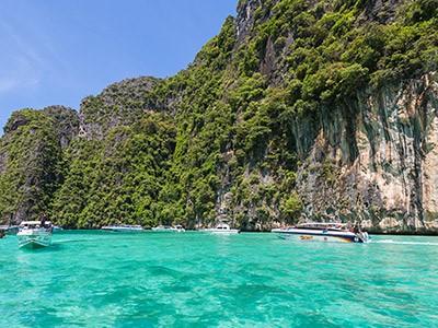 Découverte de Koh Phi Phi en speed boat