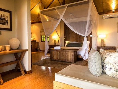 La Beach Villa du Denis Private Island aux Seychelles
