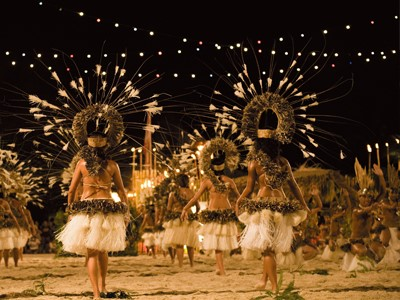 Dîner avec spectacle de danse au Tiki Village