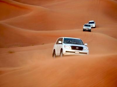 Dîner safari dans les dunes