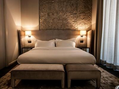 Deluxe Room du DOM Hotel en Italie