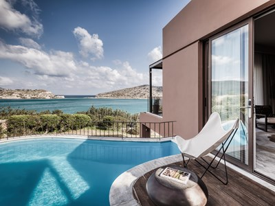 La Family Suite with private pool