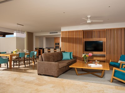 Preferred Club Paramount Suite Ocean View du Dreams Playa Mujeres
