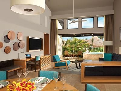Preferred Club Two Bedroom Villa du Dreams Playa Mujeres