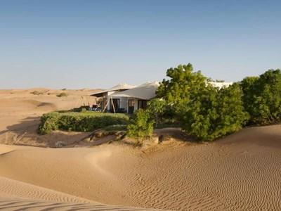 Au coeur du désert à Dubaï