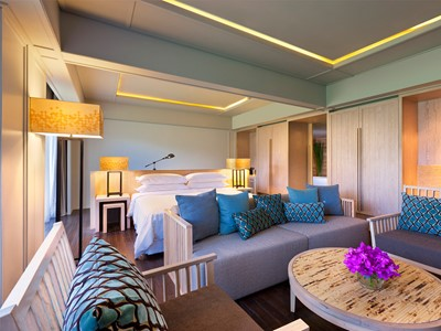 Premium Sea Facing Studio Suite du Dusit Thani Beach Resort