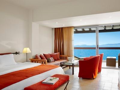 Junior Suite Sea View de l'Eagles Palace à Halkidiki