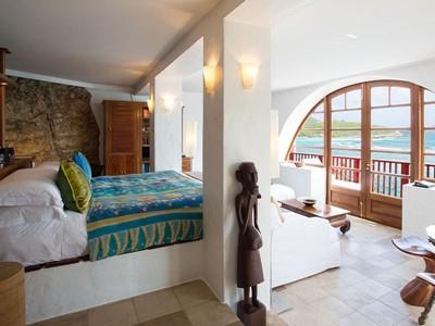De Haenen Suite de l'hôtel Eden Rock à St Barth