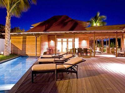Beach House Frangipani de l'hôtel Eden Rock à St Barth