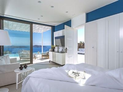1 Bedroom Massage Private Pool Suite(Heated) de l'Elounda Gulf Villas