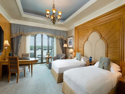 Coral Room de l'hôtel Emirates Palace à Abu Dhabi