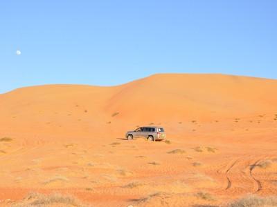 Escapade dans le désert de Wahiba en 4x4