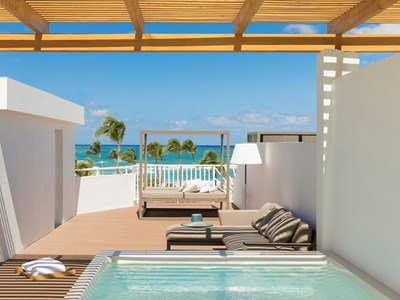 Excellence Club Honeymoon Suite Rooftop Terrace Ocean Front