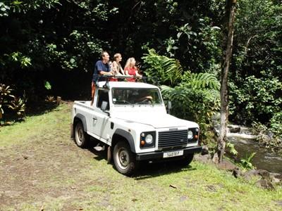 Excursion polynésienne en 4x4 (avec déjeuner) - Journée complète