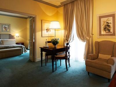 Suite Val d'Orcia de l'hôtel Fonteverde en Italie