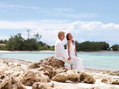 Forfait mariage à l'hôtel Desroches Island
