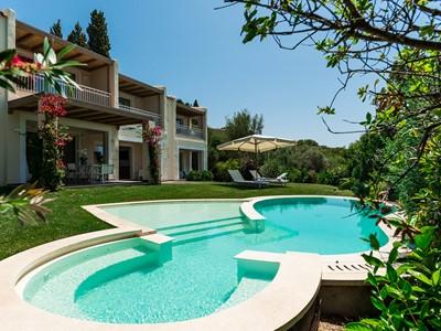 Vue extérieure de la Villa Chiara