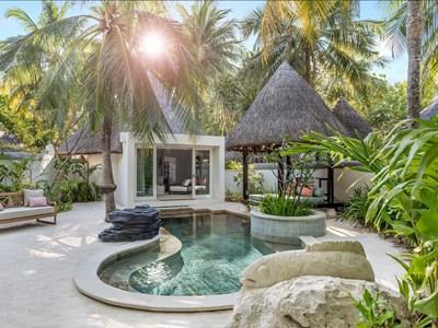 Vue extérieure de la Deluxe Beach Pavilion with Pool
