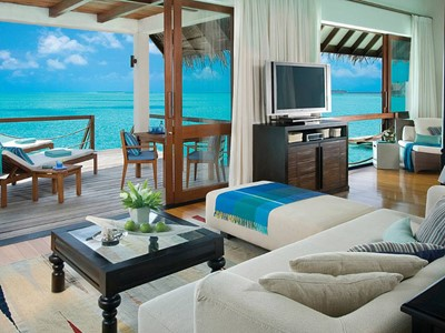 Sunrise Water Villa du Four Seasons Maldives
