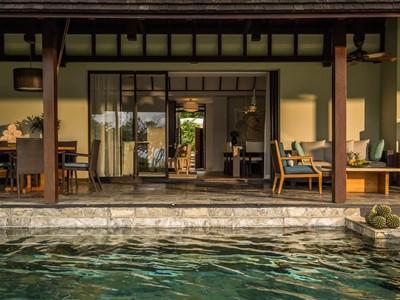 Three Bedroom Partial Ocean View Residence Villa du Four Seasons