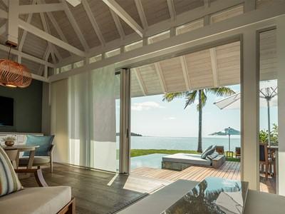 Sanctuary Ocean Pool Villa du Four Seasons à Belle Mare