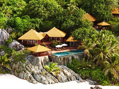 Private Pool Twin / Spa Residence du Fregate Island