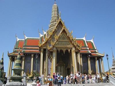 Grand Palais et Bouddha d'Émeraude
