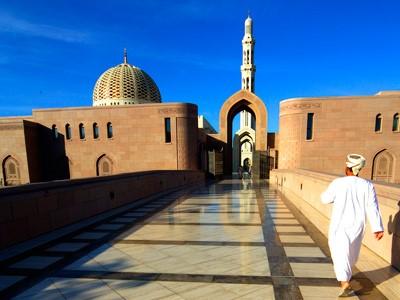 Grande mosquée de Sultan Qaboos