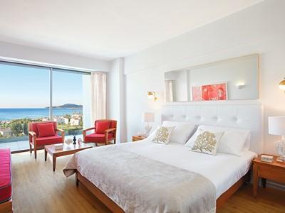 Sea View Room de l'hôtel Grecotel Lux Me Rhodos