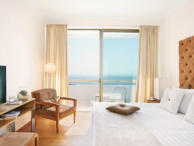 Superior Family Sea View Room du Grecotel Lux Me Rhodos