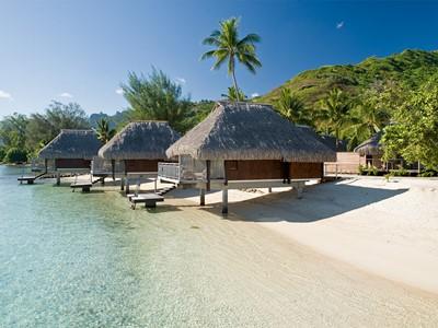 Lagoon Bungalow de l'hôtel le Hilton à Moorea