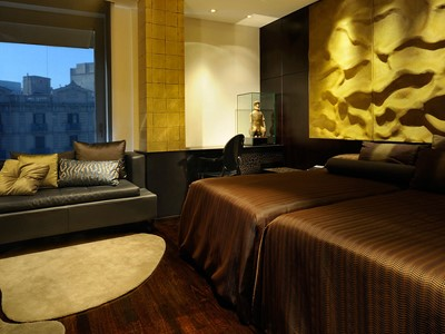 La Superior Room de lhôtel Claris situé en Espagne