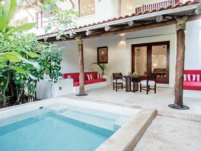 Ocean Suite de l'hôtel Esencia au Mexique