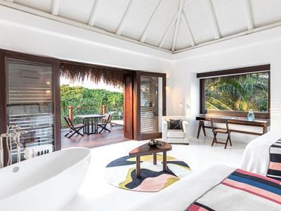 Jungle Suite de l'hôtel Esencia au Mexique