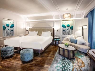 Deluxe Room de l'Hotel Royal Hoi An au Vietnam