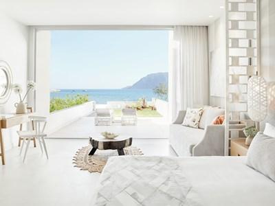 Deluxe Junior Suite Private Garden - Sea View