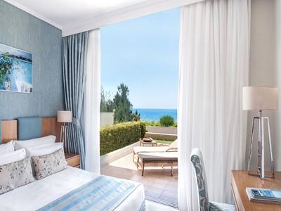 One Bedroom Family Suite Sea View de l'Ikos Oceania