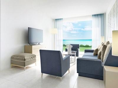 One Bedroom Family Suite Private Garden de l'Ikos Oceania