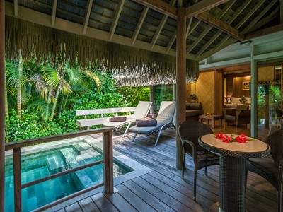 Garden Pool Junior Suite Bungalow de l'Intercontinental Moorea