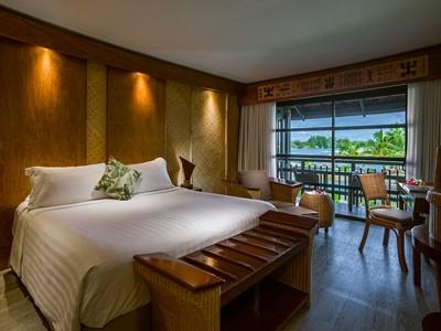 Premium Lanai Room de l'Intercontinental Moorea en Polynésie